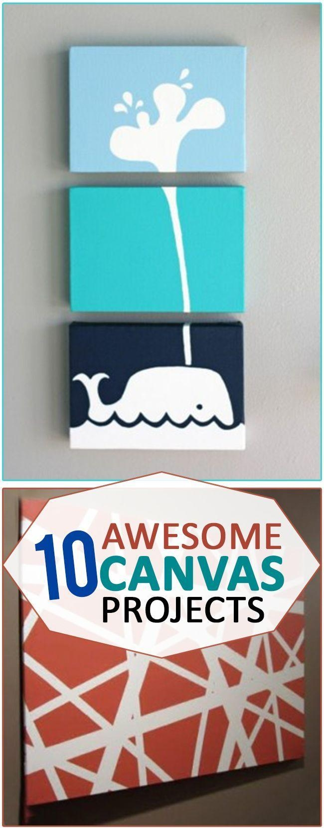 Best 25+ Diy Canvas Ideas On Pinterest | Diy Canvas Art, Puffy With Diy Pinterest Canvas Art (Image 15 of 20)
