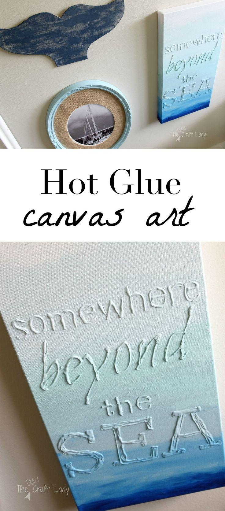 Best 25+ Easy Canvas Art Ideas On Pinterest | 3 Canvas Painting In Diy Pinterest Canvas Art (Image 17 of 20)