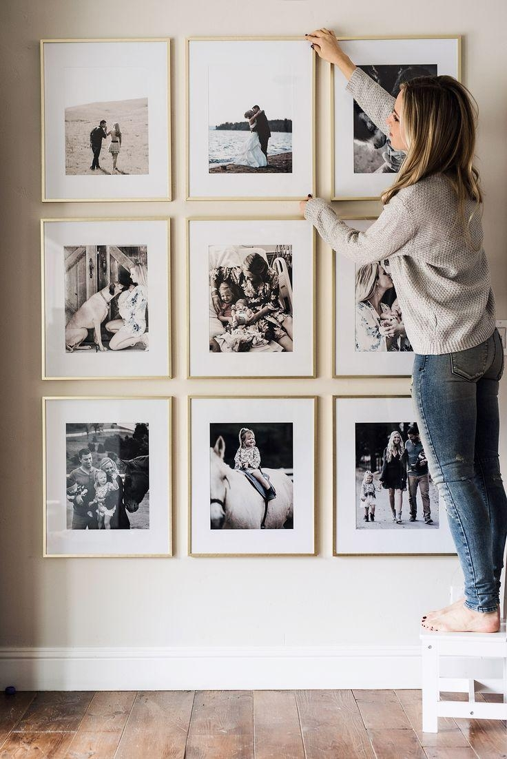 Best 25+ Family Wall Photos Ideas On Pinterest | Galleries, Photo Within Photography Wall Art (View 5 of 20)