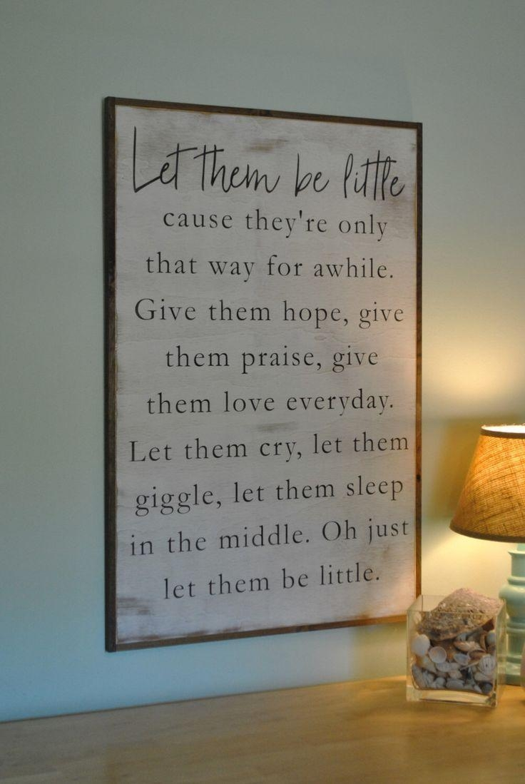 Best 25+ Farmhouse Kids Wall Decor Ideas On Pinterest | Bathroom With Playroom Wall Art (View 15 of 20)