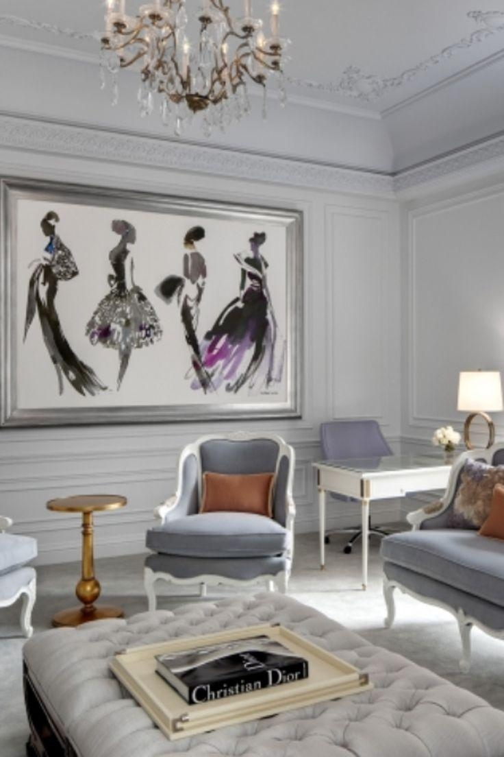 Best 25+ Fashion Decor Ideas On Pinterest | Studio Decor Frames within Paris Themed Wall Art