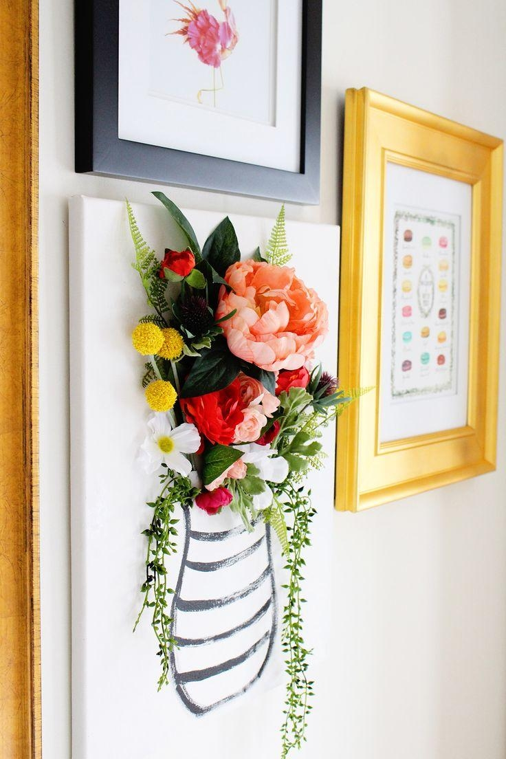 3 Home Decor Trends For Spring Brittany Stager: 20 Best Ideas 3 Piece Floral Canvas Wall Art