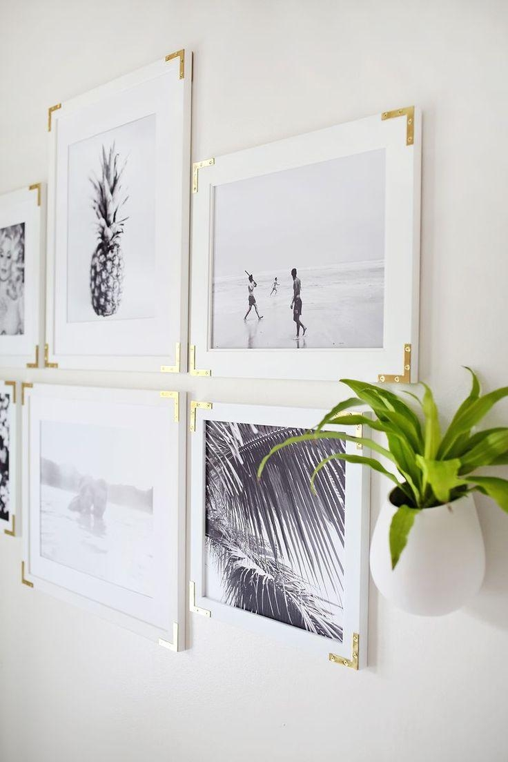 Best 25+ Framed Art Ideas Only On Pinterest | Gold Picture Frames In Large White Wall Art (View 2 of 21)