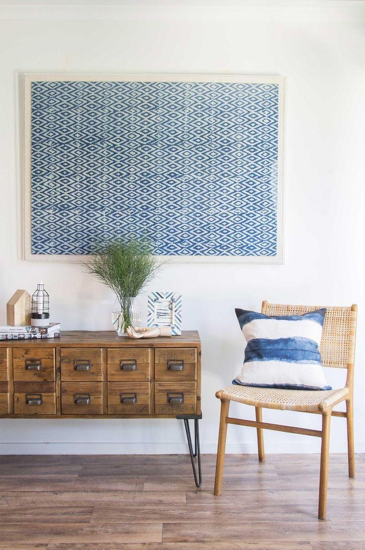 Best 25+ Framed Fabric Art Ideas On Pinterest | Framed Fabric Throughout Framed Fabric Wall Art (View 4 of 20)
