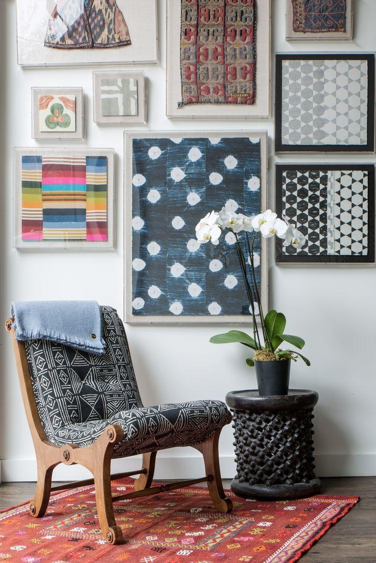 Best 25+ Framed Fabric Art Ideas On Pinterest | Framed Fabric With Framed Fabric Wall Art (View 9 of 20)