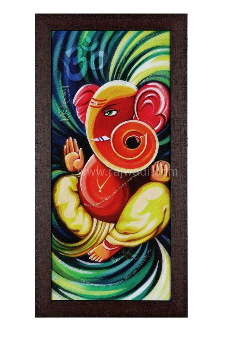 Best 25+ Ganesha Painting Ideas On Pinterest | Ganesha Drawing In Ganesh Wall Art (Image 4 of 20)