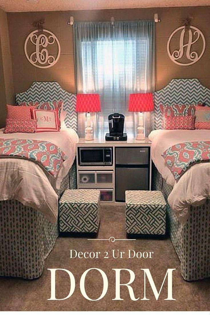 Best 25+ Girl Dorm Rooms Ideas On Pinterest | Girl Dorm Decor With College Dorm Wall Art (Image 10 of 20)