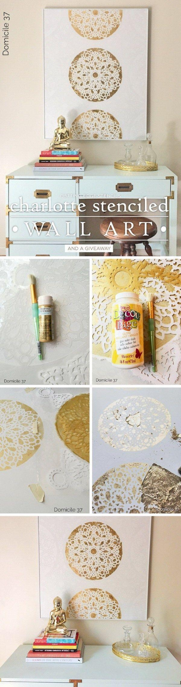 Best 25+ Gold Wall Art Ideas On Pinterest | Decorative Wall In Silver And Gold Wall Art (View 2 of 20)