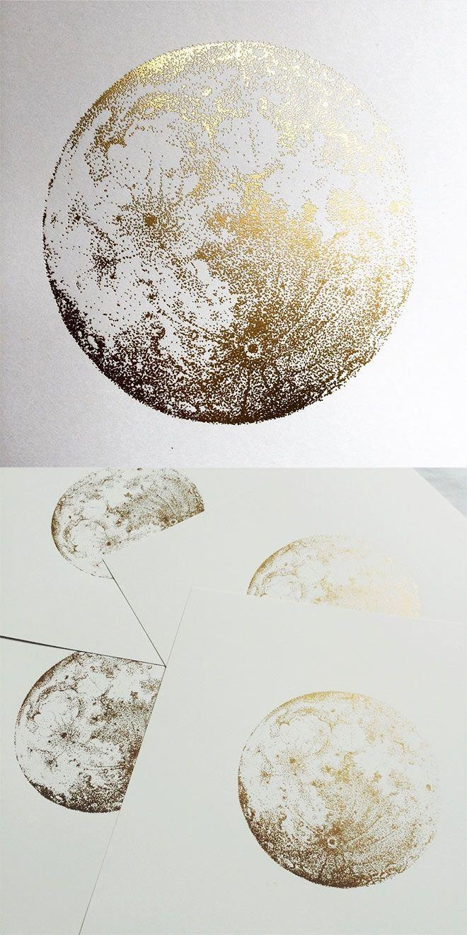 Best 25+ Gold Wall Art Ideas On Pinterest | Decorative Wall Within Silver And Gold Wall Art (View 18 of 20)