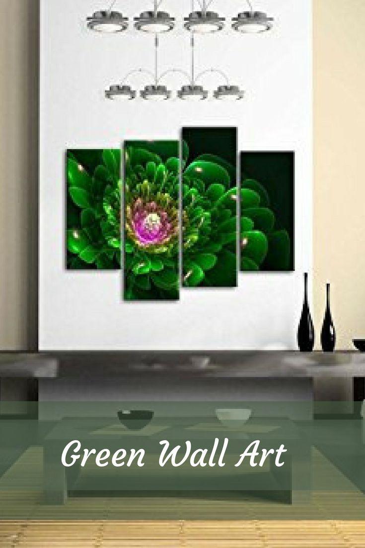 Best 25+ Green Canvas Art Ideas Only On Pinterest | Natural Wall Regarding Green Canvas Wall Art (Image 6 of 20)