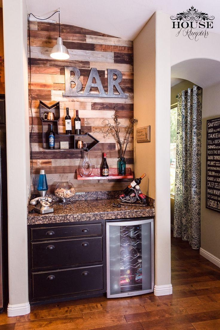 Best 25+ Home Bar Decor Ideas On Pinterest | Outdoor Wood Projects With Regard To Wall Art For Bar Area (Image 9 of 20)