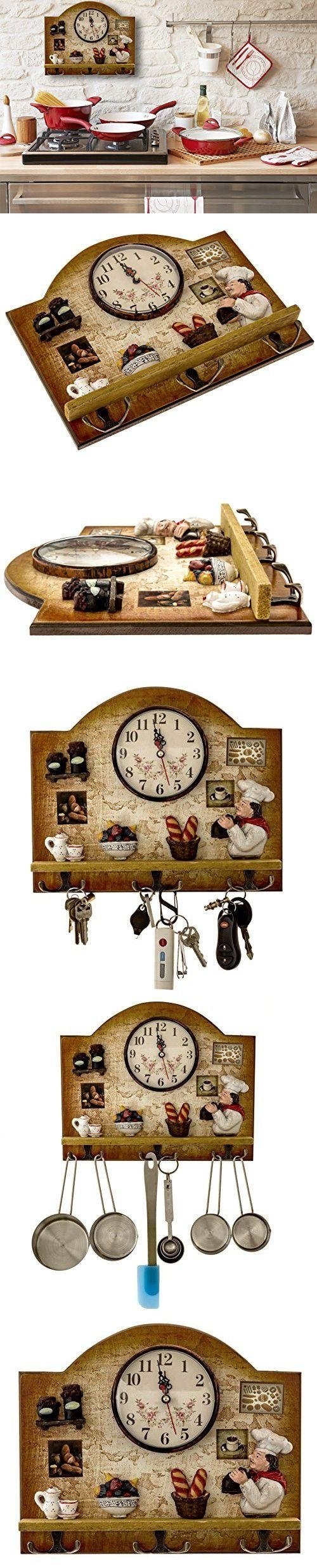 Best 25+ Italian Kitchen Decor Ideas On Pinterest   Apothecary Intended For Italian Ceramic Wall Clock Decors (Image 9 of 20)