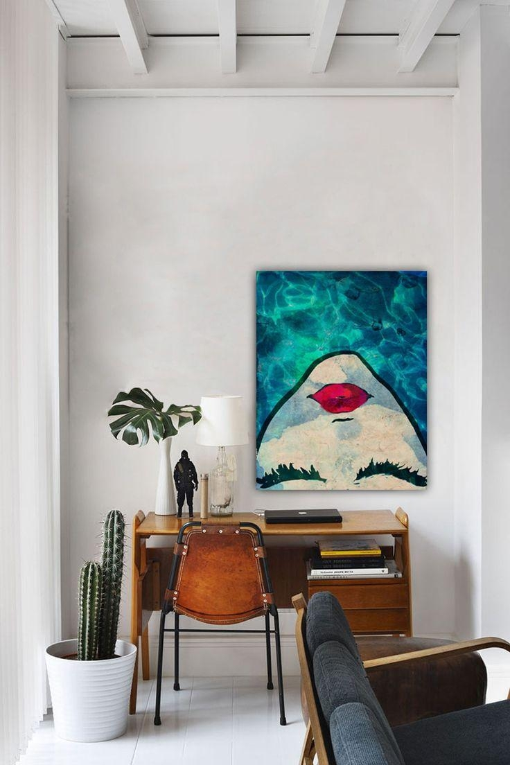 Best 25+ Large Canvas Art Ideas On Pinterest | Abstract Canvas Pertaining To Horizontal Canvas Wall Art (Image 6 of 20)