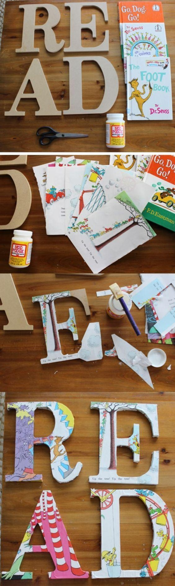Best 25+ Letter Wall Art Ideas On Pinterest | Initial Art, Paper With Decoupage Wall Art (Image 3 of 20)