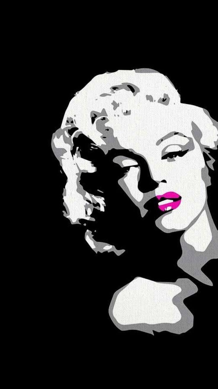 Best 25+ Marilyn Monroe Painting Ideas On Pinterest | Marilyn Pertaining To Marilyn Monroe Black And White Wall Art (View 6 of 20)