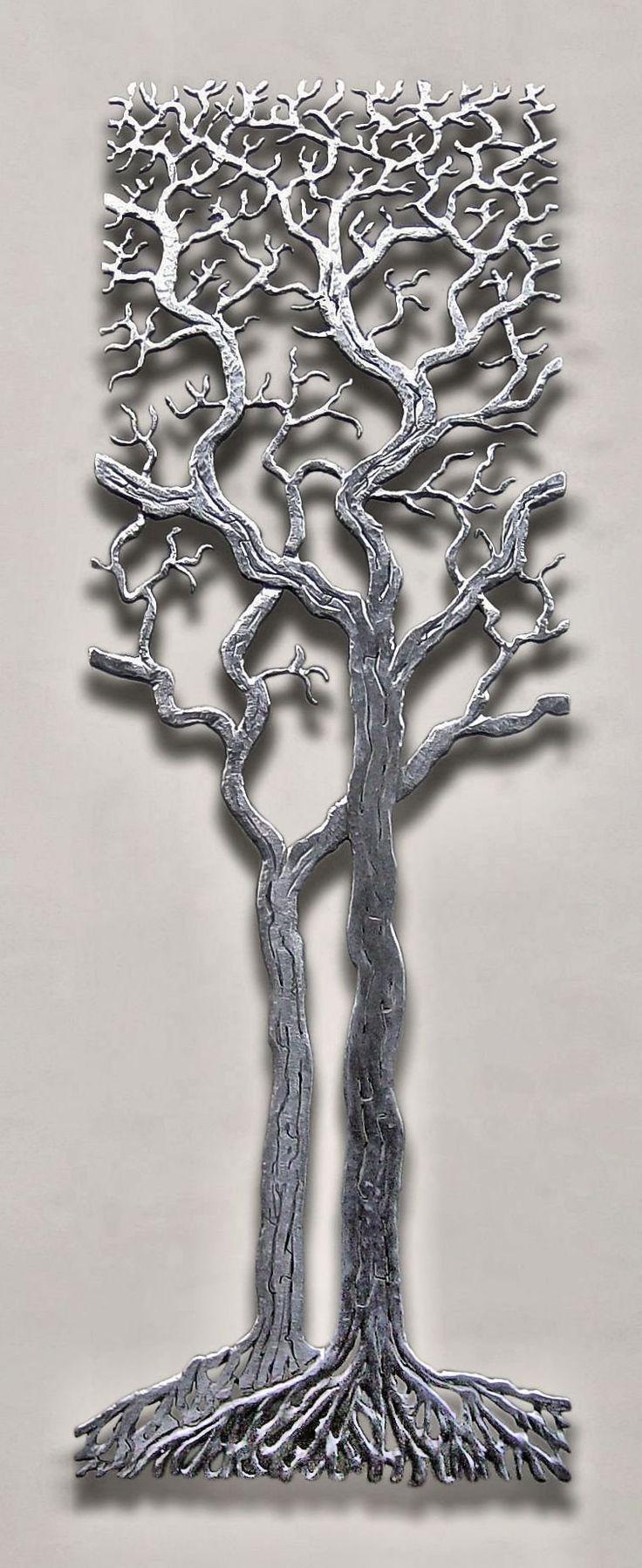 Best 25+ Metal Wall Art Ideas On Pinterest | Metal Art, Metal Wall For Oak Tree Metal Wall Art (Image 3 of 20)