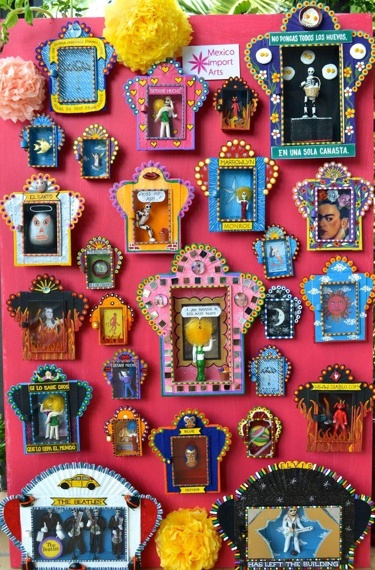 Best 25+ Mexican Art Ideas On Pinterest | Mexican Paintings Within Mexican Metal Yard Wall Art (Image 4 of 20)