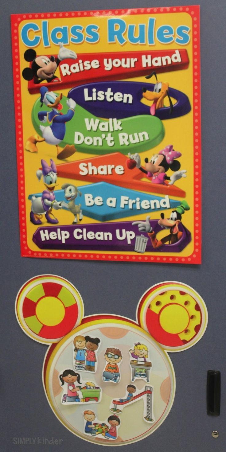 Best 25+ Mickey Mouse Classroom Ideas On Pinterest | Disney In Preschool Wall Decoration (View 15 of 20)