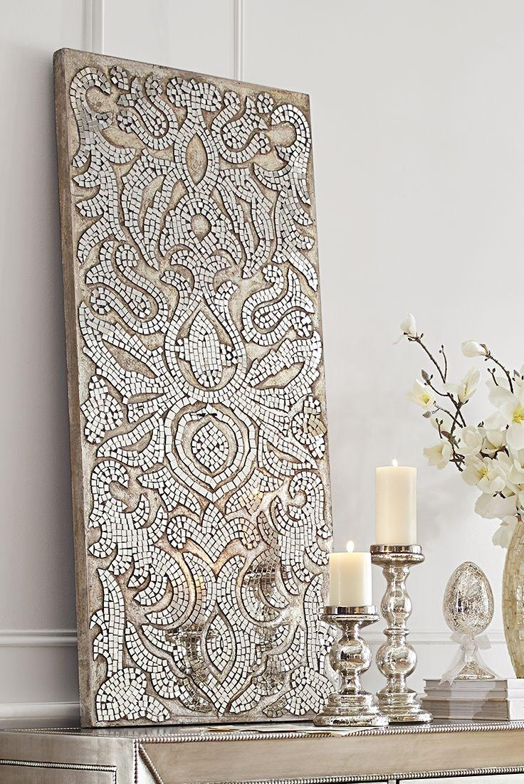 Best 25+ Mirror Wall Art Ideas On Pinterest | Cd Wall Art, Mosaic For Silver And Gold Wall Art (View 14 of 20)