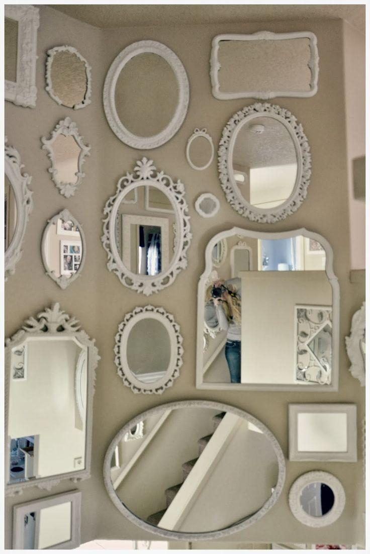 Best 25+ Mirror Walls Ideas On Pinterest | Scandinavian Wall Pertaining To Diy Mirror Wall Art (Image 6 of 20)
