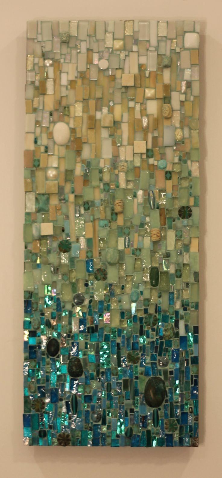 Best 25+ Mosaic Art Ideas On Pinterest | Mosaics, Mosaic And Pertaining To Glass Wall Artworks (Image 16 of 20)