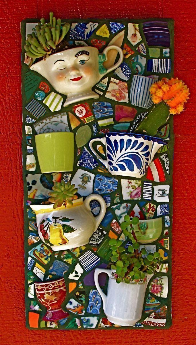Best 25+ Mosaic Wall Art Ideas Only On Pinterest   Mosaic Tile Art With Regard To Diy Garden Wall Art (Image 6 of 20)
