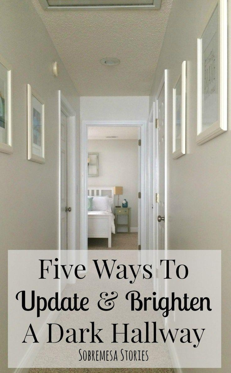 Best 25+ Narrow Hallway Decorating Ideas On Pinterest | Narrow Intended For Wall Art Ideas For Hallways (View 10 of 20)