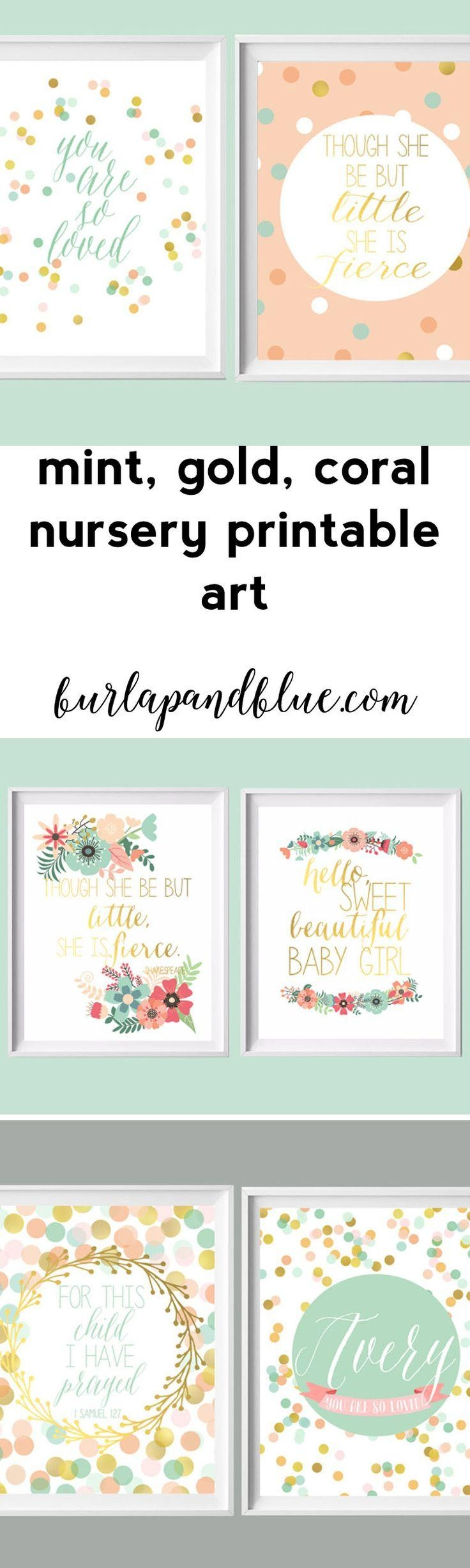 Best 25+ Nursery Wall Art Ideas Only On Pinterest | Baby Nursery In Baby Wall Art (View 8 of 20)
