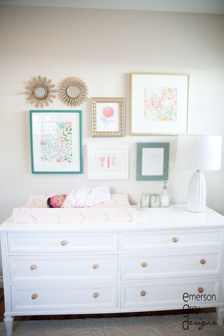 Best 25+ Nursery Wall Art Ideas Only On Pinterest   Baby Nursery With Over The Bed Wall Art (View 17 of 20)