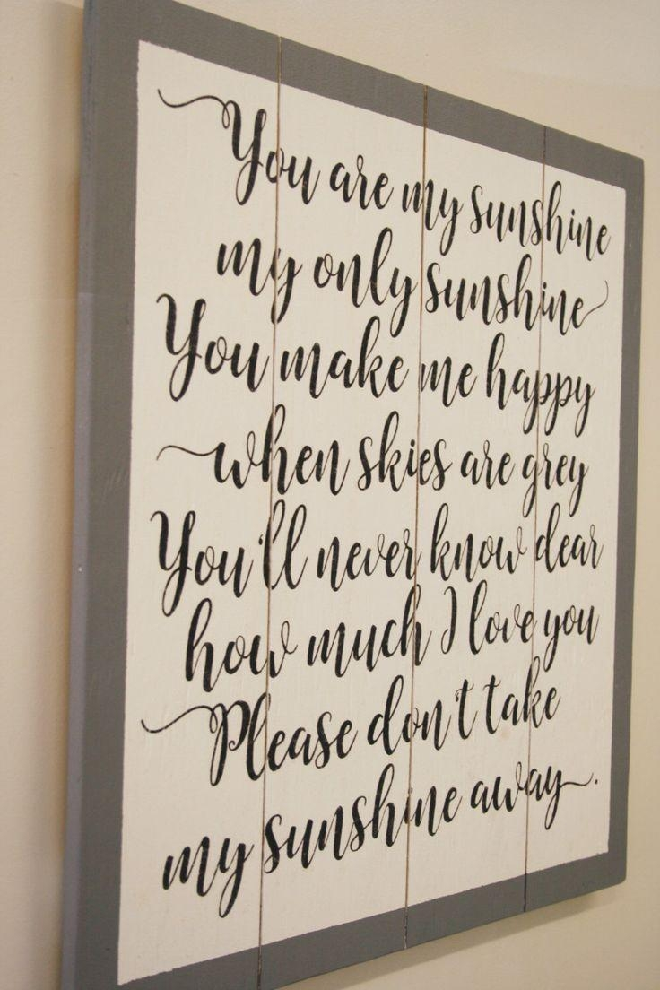 Best 25+ Nursery Wall Decor Ideas On Pinterest | Nursery Decor Throughout Nursery Bible Verses Wall Decals (Image 4 of 20)