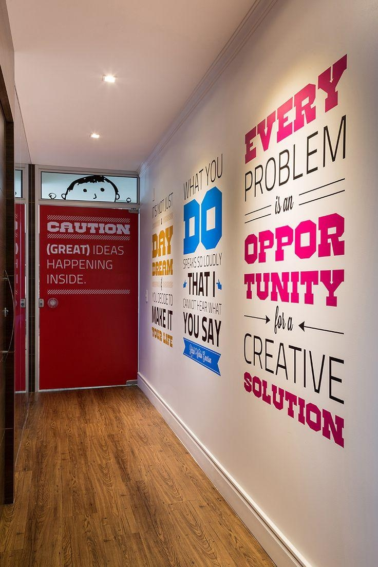 Best 25+ Office Walls Ideas On Pinterest | Office Wall Design With Cubicle Wall Art (View 10 of 20)
