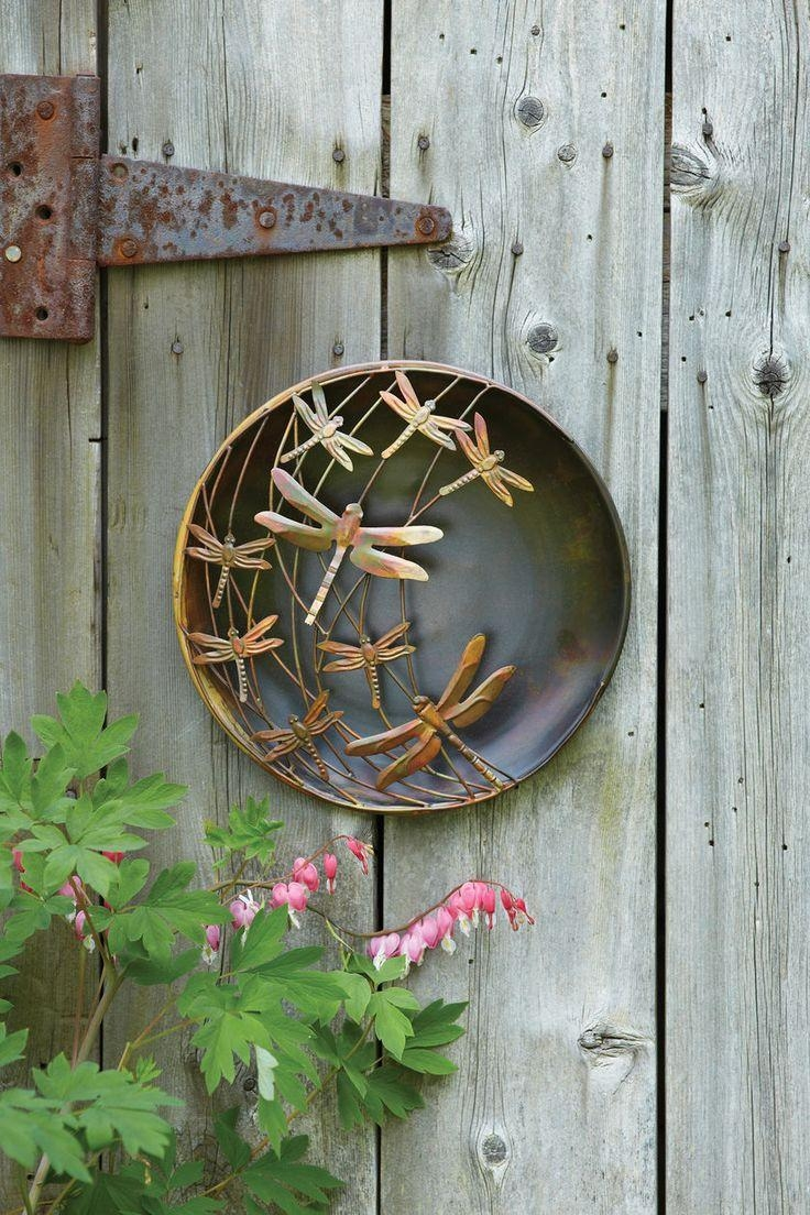 20 best collection of copper outdoor wall art wall art ideas for Outdoor garden wall decor