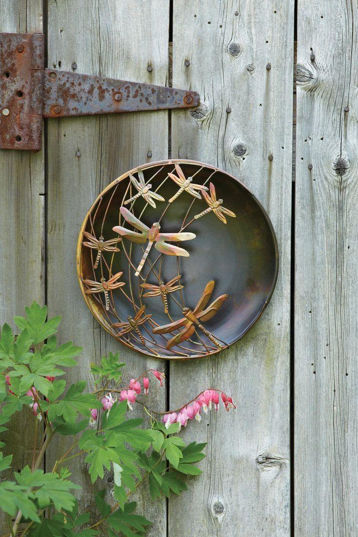 Best 25+ Outdoor Wall Art Ideas On Pinterest | Outdoor Art, Garden Intended For Copper Outdoor Wall Art (Image 3 of 20)