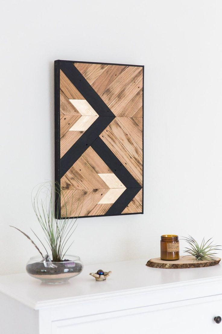 Best 25+ Pallet Wall Art Ideas On Pinterest | Chevron, Navy Within Vibrant Wall Art (View 16 of 20)