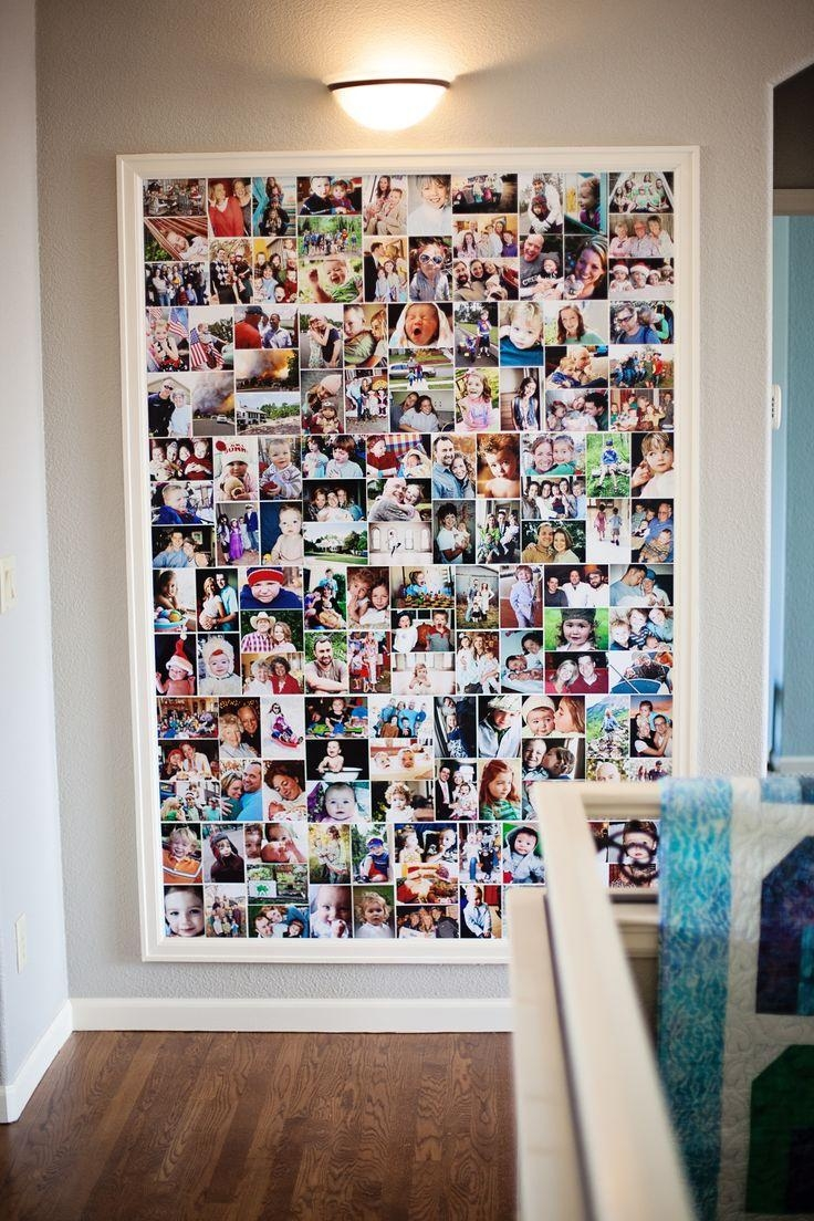 Best 25+ Photo Collage Canvas Ideas On Pinterest | Picture Collage Intended For Small Canvas Wall Art (Image 5 of 20)