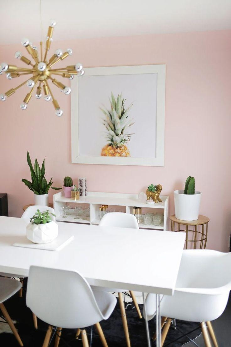 Best 25+ Pink Dining Room Furniture Ideas Only On Pinterest | Pink Throughout Modern Wall Art For Dining Room (Image 14 of 20)
