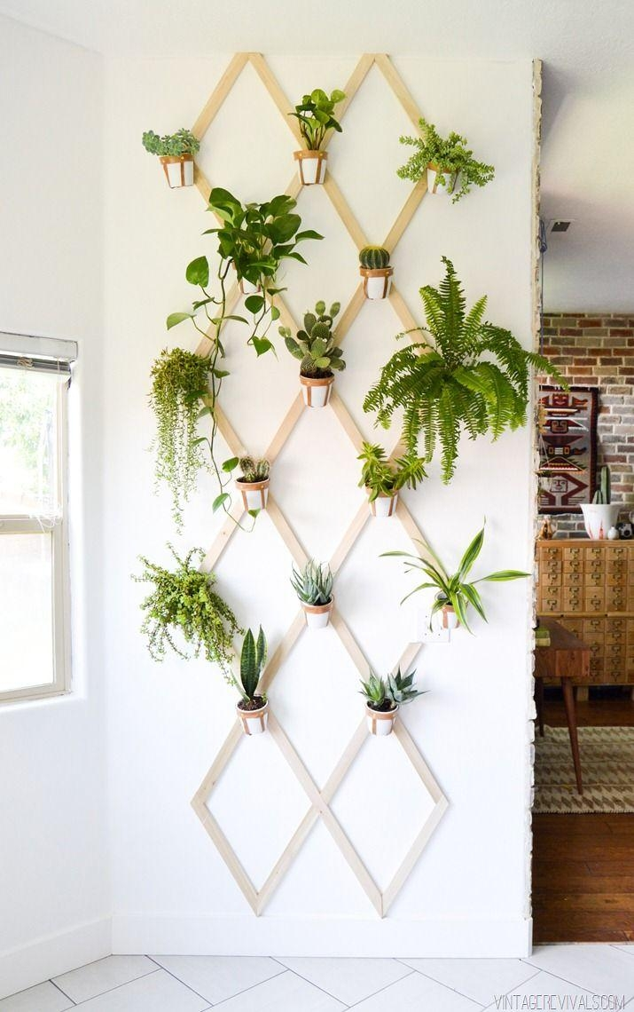 Best 25+ Plant Wall Ideas On Pinterest | Healthy Restaurant Design For Diy Garden Wall Art (Image 8 of 20)