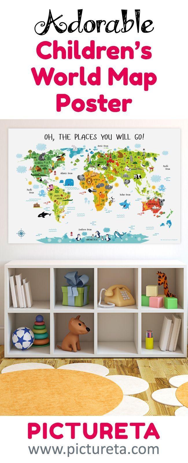 Best 25+ Playroom Art Ideas On Pinterest   Playroom Decor Regarding Wall Art For Playroom (View 8 of 20)