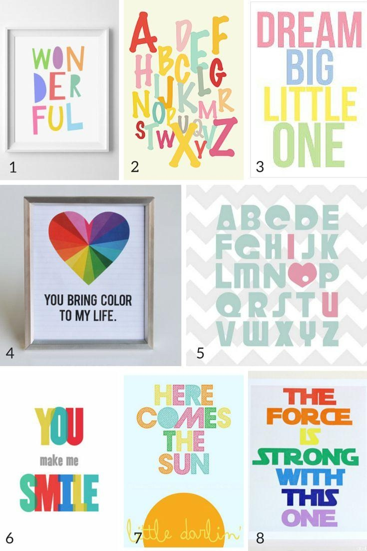Best 25+ Playroom Art Ideas On Pinterest | Playroom Decor Throughout Children Wall Art (Image 4 of 20)