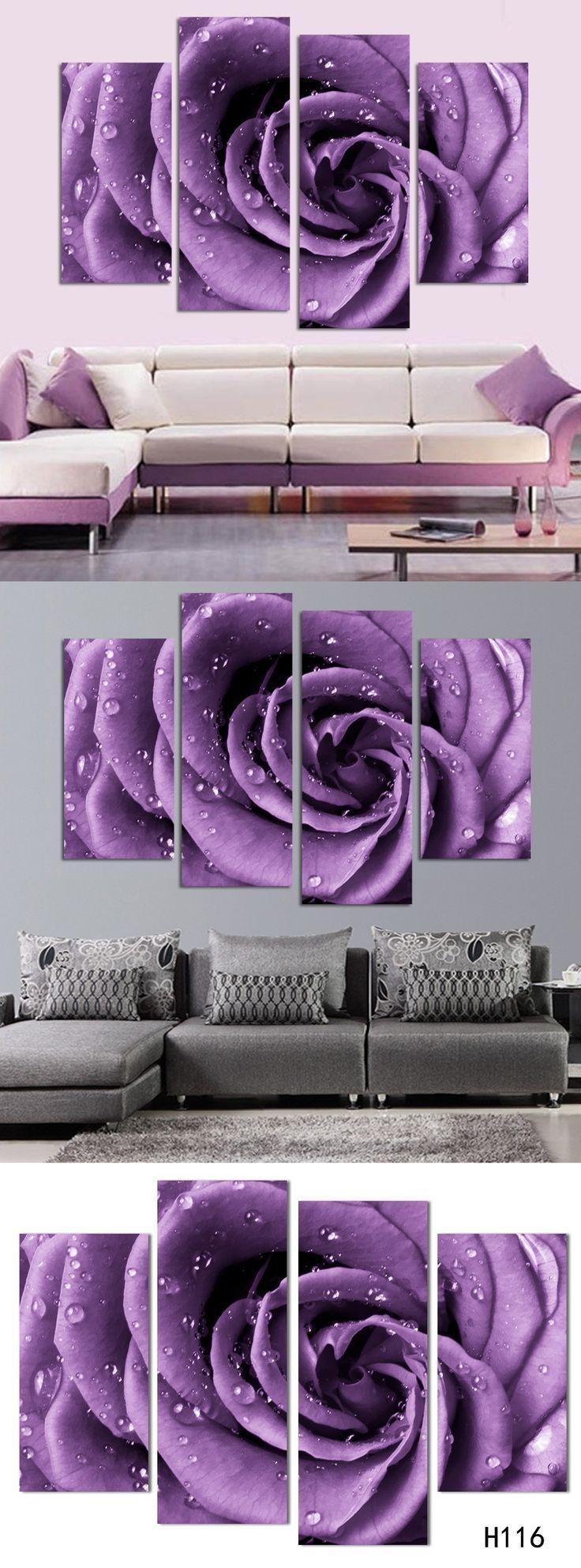 Best 25+ Purple Wall Art Ideas On Pinterest | Purple Printed Art Pertaining To Aubergine Wall Art (View 18 of 20)