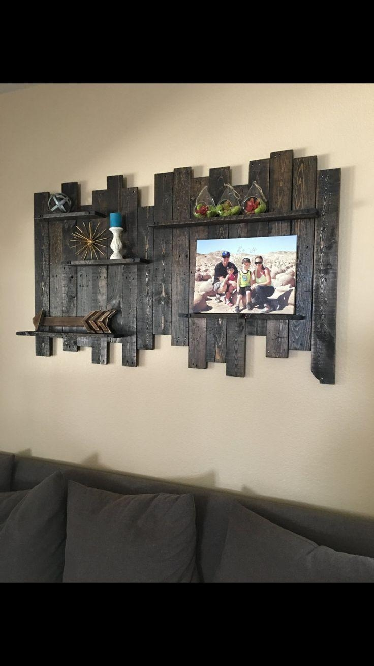 Best 25+ Reclaimed Wood Walls Ideas On Pinterest | Wood Walls With Regard To Dark Wood Wall Art (Image 8 of 20)