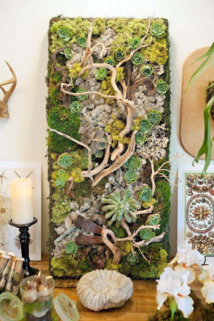 Best 25+ Succulent Wall Gardens Ideas On Pinterest | Succulent With Regard To Floral & Plant Wall Art (Image 6 of 20)