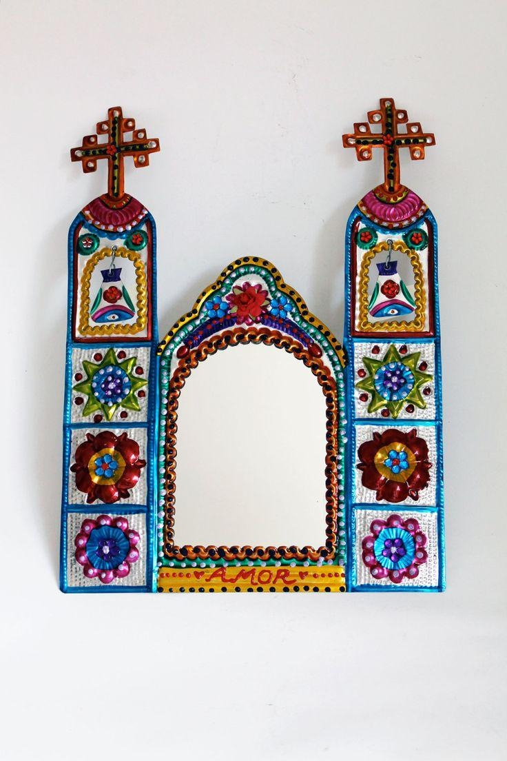 Best 25+ Tin Metal Ideas On Pinterest | Metal Mirror, Sacred Heart With Mexican Metal Art (Image 8 of 20)
