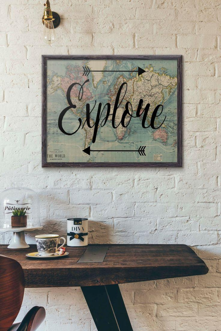 Best 25+ Travel Wall Art Ideas On Pinterest | Travel Wall Decor In Paris Themed Wall Art (View 17 of 20)