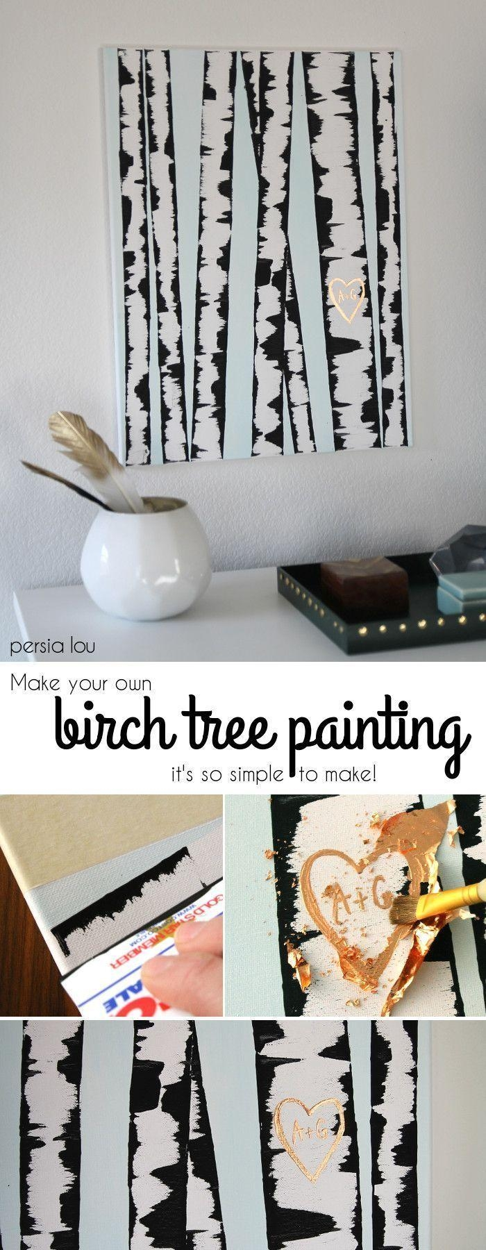 Best 25+ Tree Wall Painting Ideas On Pinterest | Family Tree Mural With Regard To Painted Trees Wall Art (Image 3 of 20)