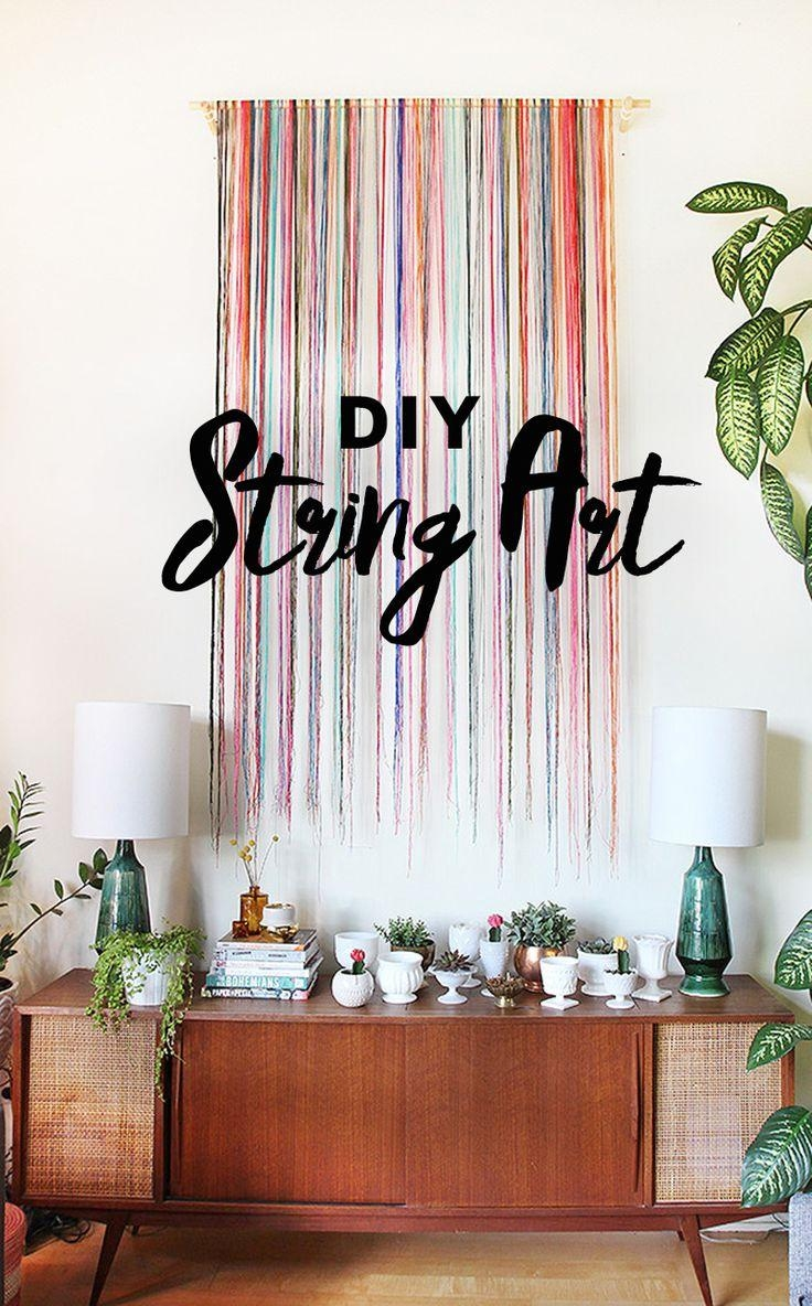 Best 25+ Unique Wall Art Ideas On Pinterest | Plaster Art, Wood Intended For Large Unique Wall Art (Image 3 of 20)
