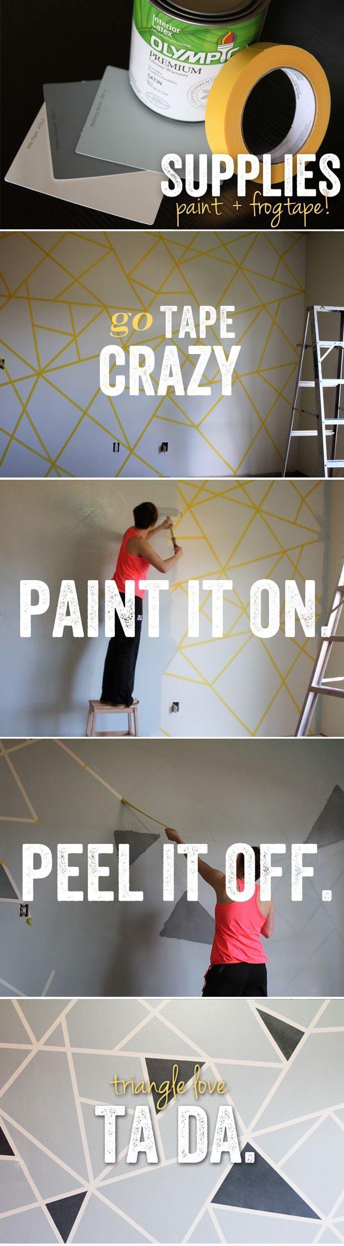Best 25+ Unique Wall Art Ideas Only On Pinterest | Plaster Art For Kaleidoscope Wall Art (Image 8 of 20)