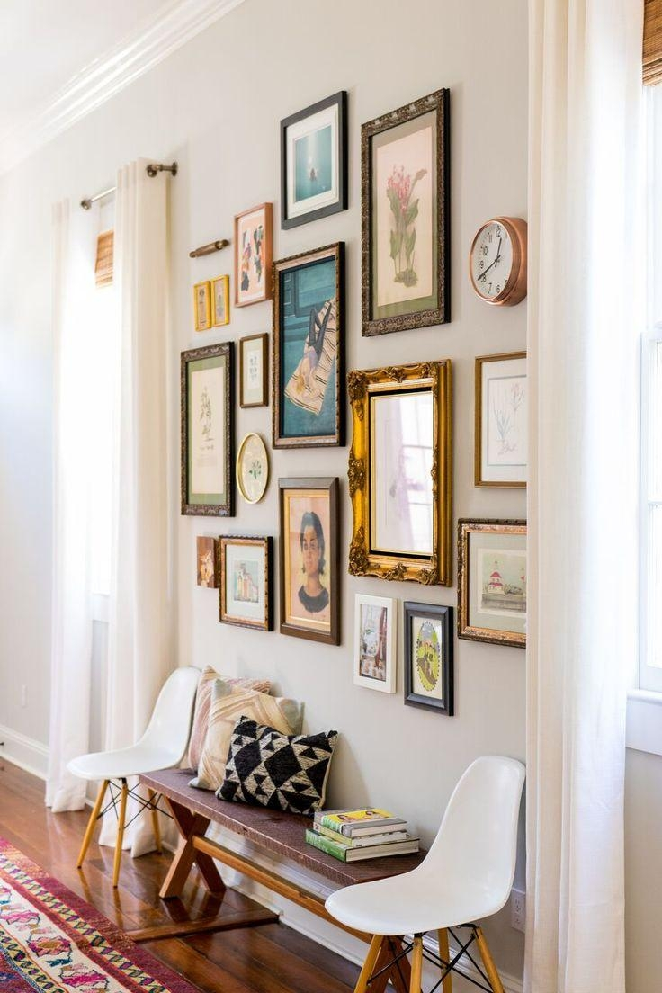 Best 25+ Vintage Wall Art Ideas On Pinterest | Eclectic Gallery Pertaining  To Vintage Industrial
