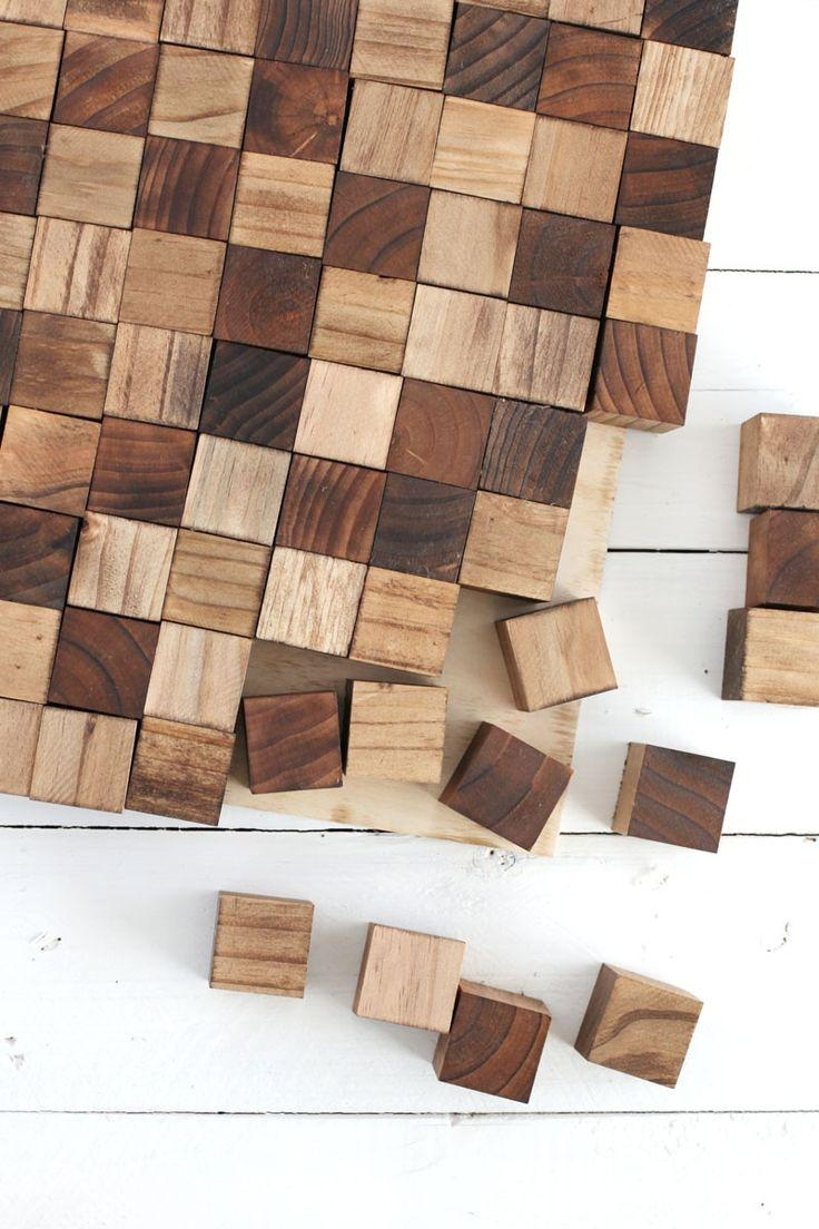 Best 25+ Wood Wall Art Ideas On Pinterest | Wood Art, Wood Pertaining To Wooden Wall Art Panels (Image 5 of 20)