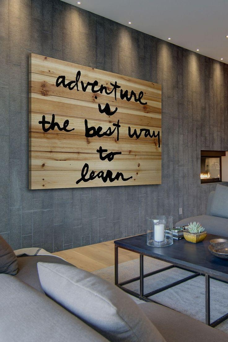 Best 25+ Wood Wall Art Ideas On Pinterest | Wood Art, Wood With Regard To Wall Art With Lights (Image 5 of 20)